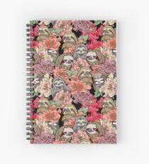 Because Sloths Spiral Notebook