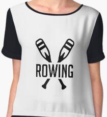 Rowing - Rowing Paddles - Rower Gift Women's Chiffon Top