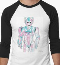 Cyberman - Red and Blue T-Shirt