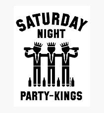 Saturday Night Party-Kings (Black) Photographic Print