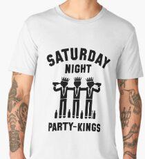 Saturday Night Party-Kings (Black) Men's Premium T-Shirt