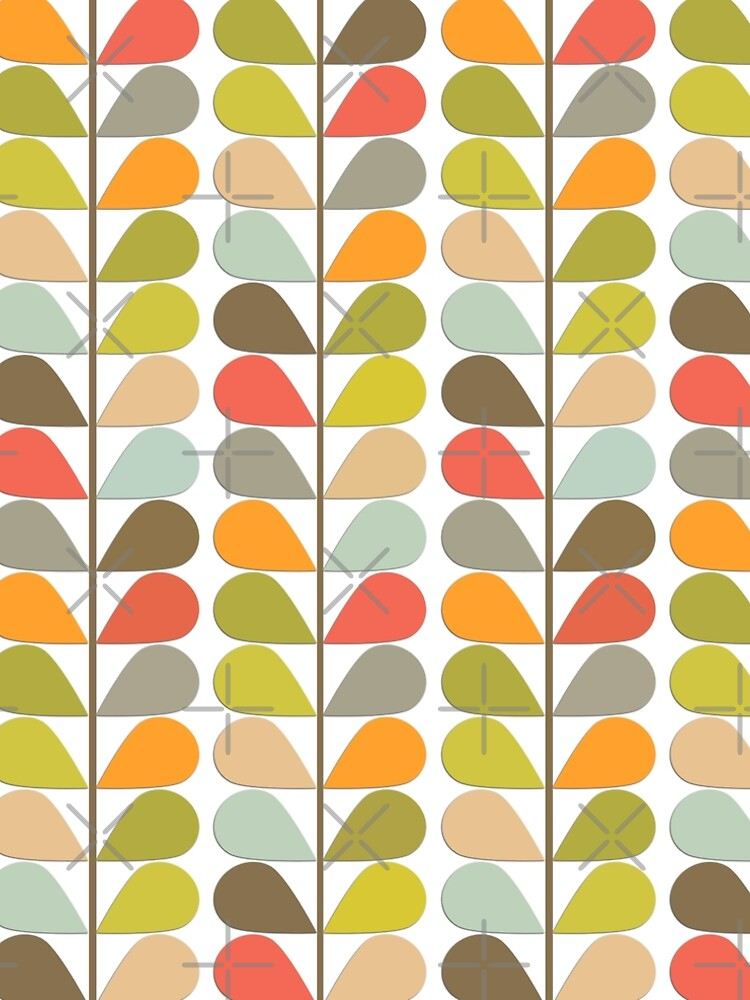 Retro 60s Midcentury Modern Pattern by Makanahele