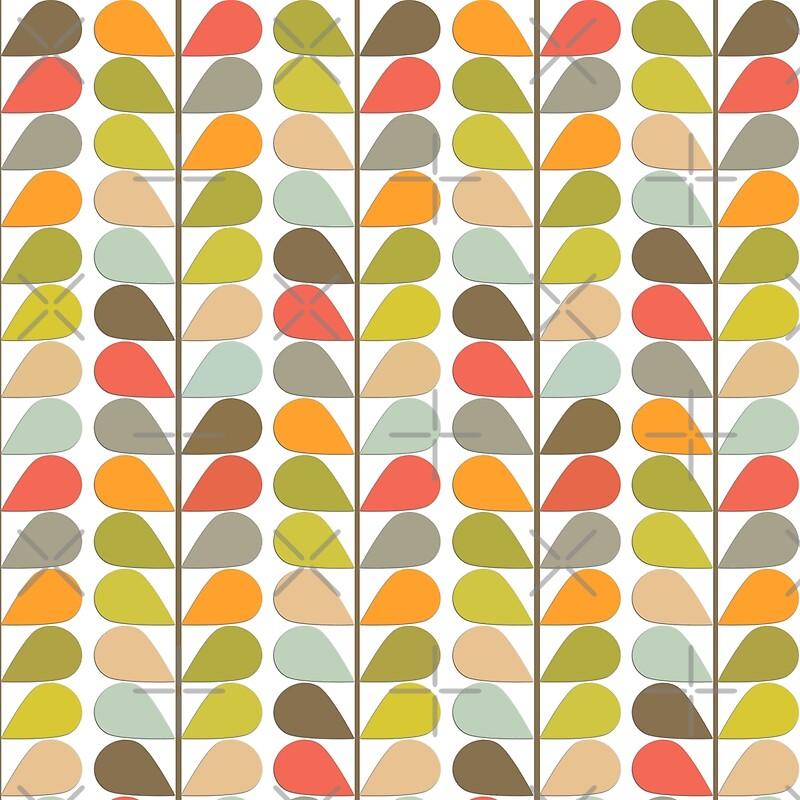 "50 Modern Wallpaper Pattern: ""Retro 60s Midcentury Modern Pattern"" By Makanahele"