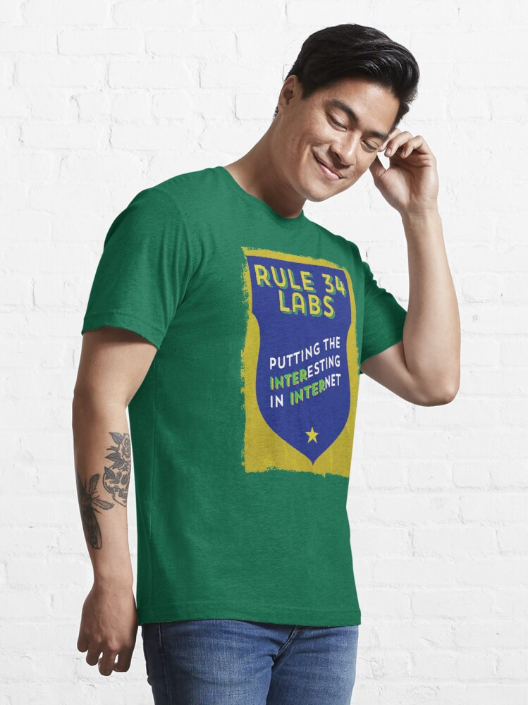Alternate view of Rule 34 Labs Essential T-Shirt