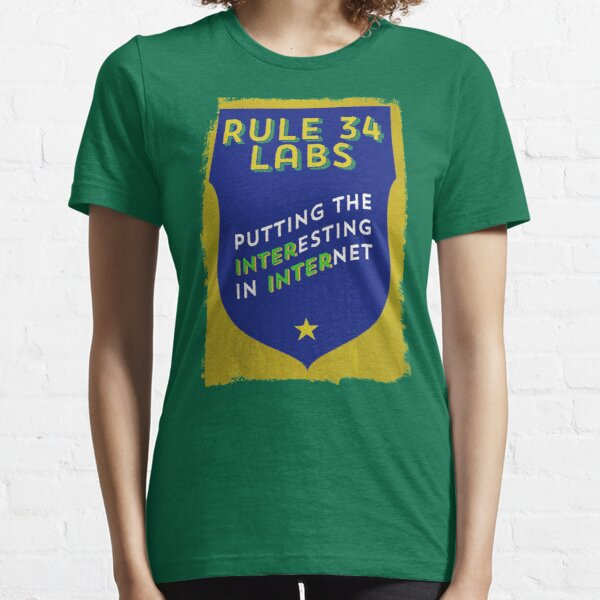 Rule 34 Labs Essential T-Shirt