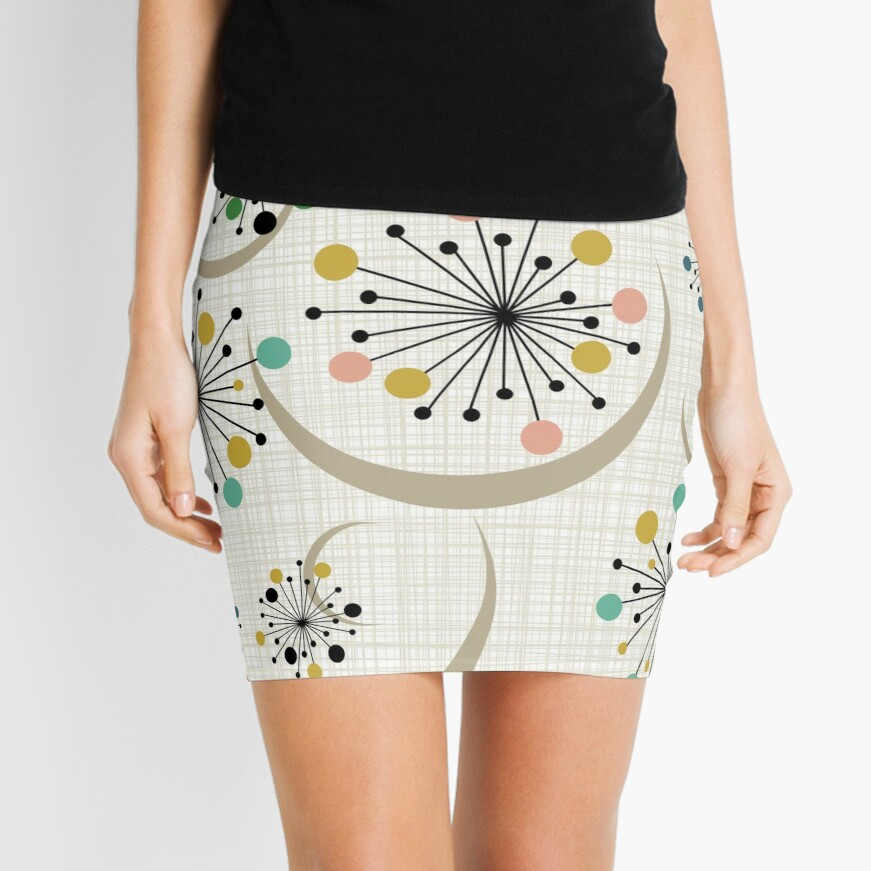 Eames Era Starbursts Mini Skirt