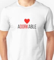 Adorkable, Adorable  Unisex T-Shirt