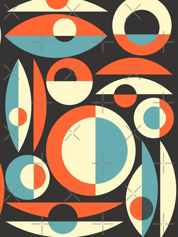 Retro Eames Era  Pisces by Makanahele
