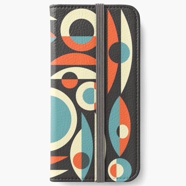 Retro Eames Era  Pisces iPhone Wallet