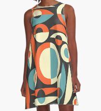 Retro Eames Era  Pisces A-Line Dress