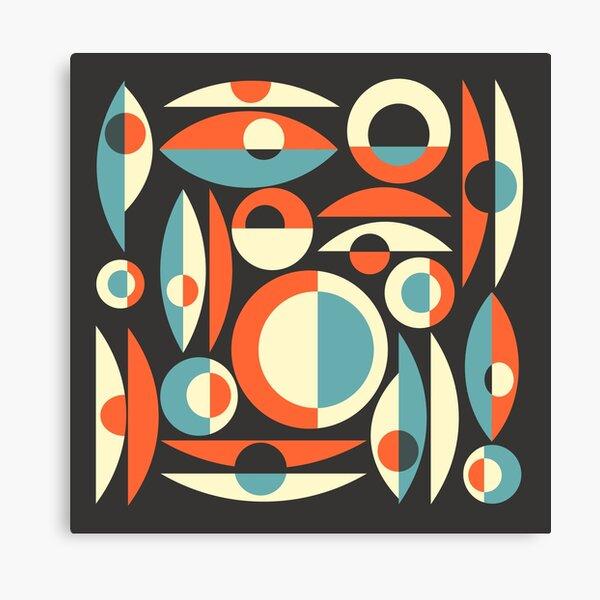 Retro Eames Era  Pisces Canvas Print