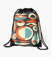 Retro Eames Era  Pisces Drawstring Bag