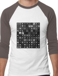 Messier Image Map Men's Baseball ¾ T-Shirt
