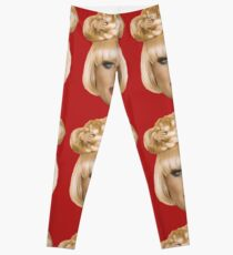 Katya Zamolodchikova's head Leggings