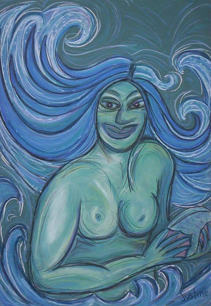 Birth of Aphrodite by justineb