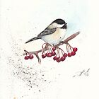 Waiting for my Chickadee by Morgan Adams
