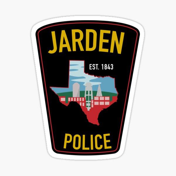 Jarden Police Department  Sticker