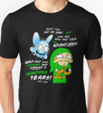 Navi Rick and Link Morty T-Shirt