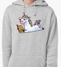 Unicorn Believe in Yourself Magically Fabulous II Pullover Hoodie