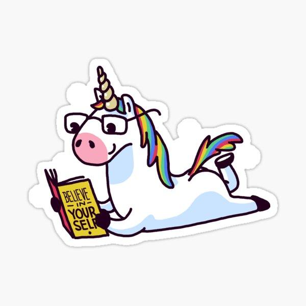 Licorne croyez en vous-même magiquement fabuleux II Sticker
