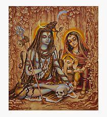 Genesha Parvati Mahadeva Photographic Print