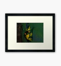 Kermit Impression Framed Print