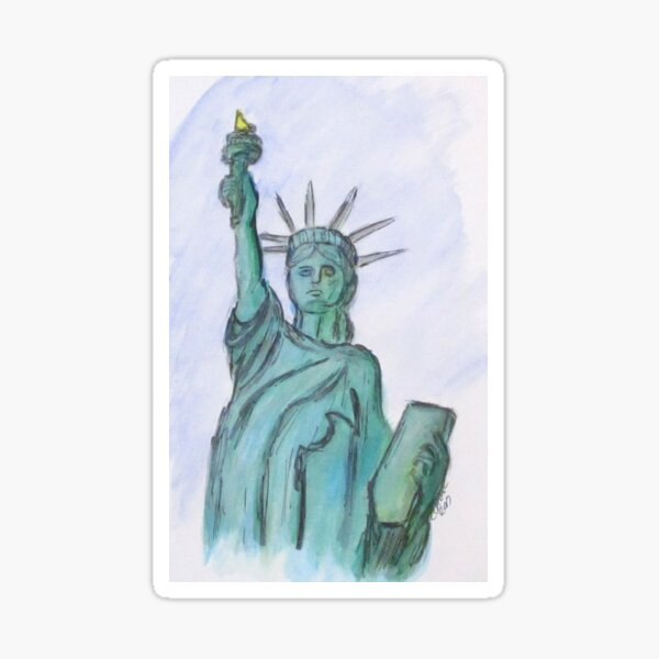 The Queen Of Liberty Sticker