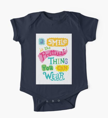 Smile is the Prettiest Thing You Can Wear Kids Clothes