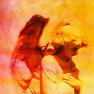 An Angel PraisesThe Lord by Marie Sharp