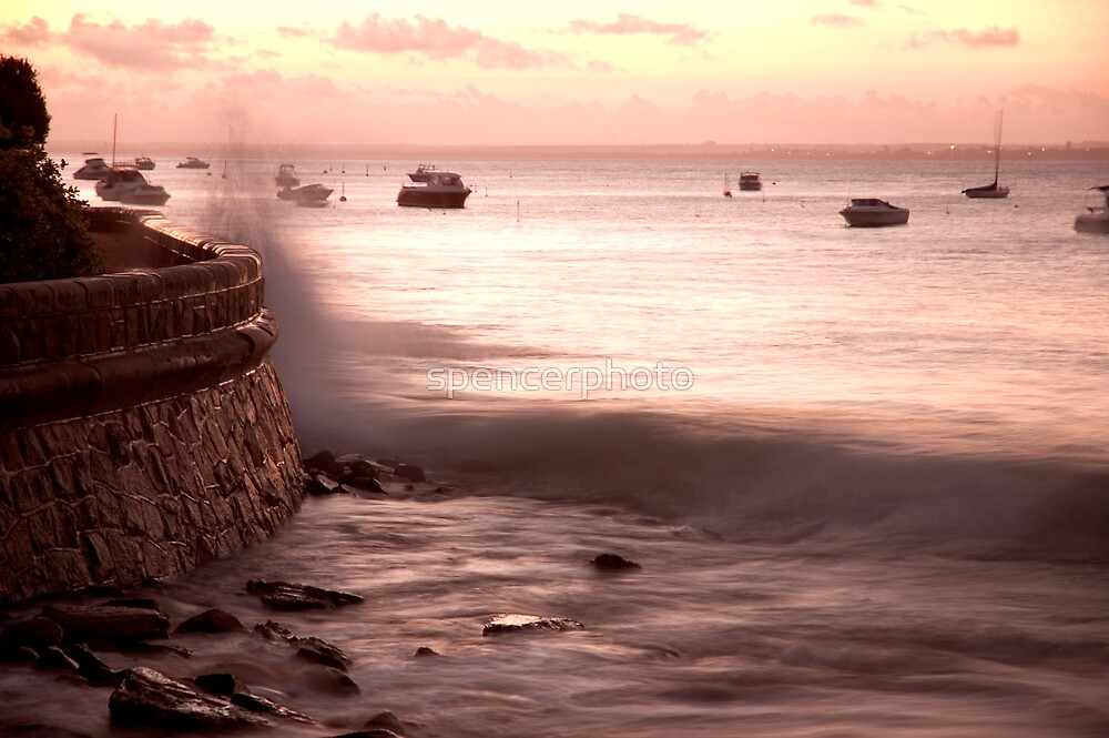 portsea wall by spencerphoto