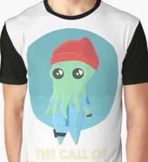 The Call of Steve Zissou (white) Graphic T-Shirt