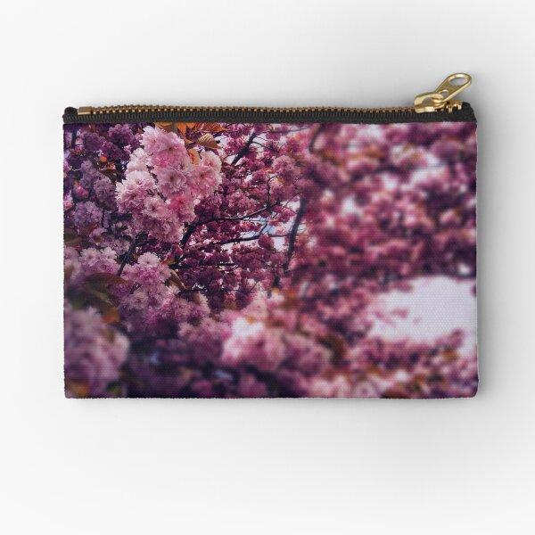 Cherry Tree Zipper Pouch