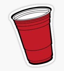 Red Cup Sticker
