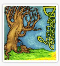 Tree & Knot (none repeat) Sticker
