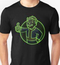 Colorful Vault Boy Unisex T-Shirt