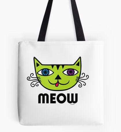 Meow Cat multi Tote Bag