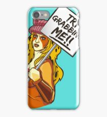 Try grabbing me! iPhone Case/Skin