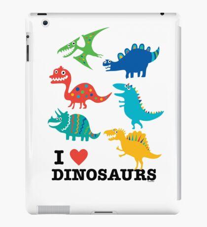 I love dinosaurs iPad Case/Skin