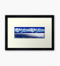 Antarctic . Framed Print