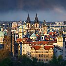 Prague Glow by Michael Breitung
