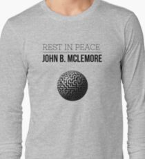 Rest In Peace- John b Mclemore (Globe Classic) Long Sleeve T-Shirt