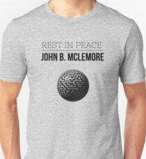 Rest In Peace- John b Mclemore (Globe Classic) Unisex T-Shirt