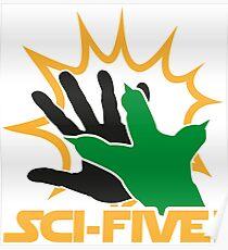 Sci-Five - Yoda Poster
