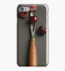 Cherries and Chisel iPhone Case/Skin