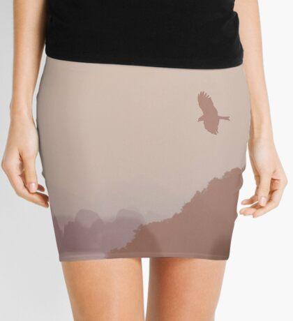 In Flight over Halong Bay Mini Skirt
