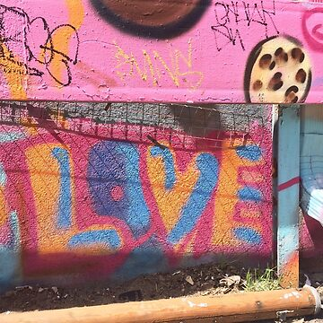 LOVE Graffiti Street Art by BetteB