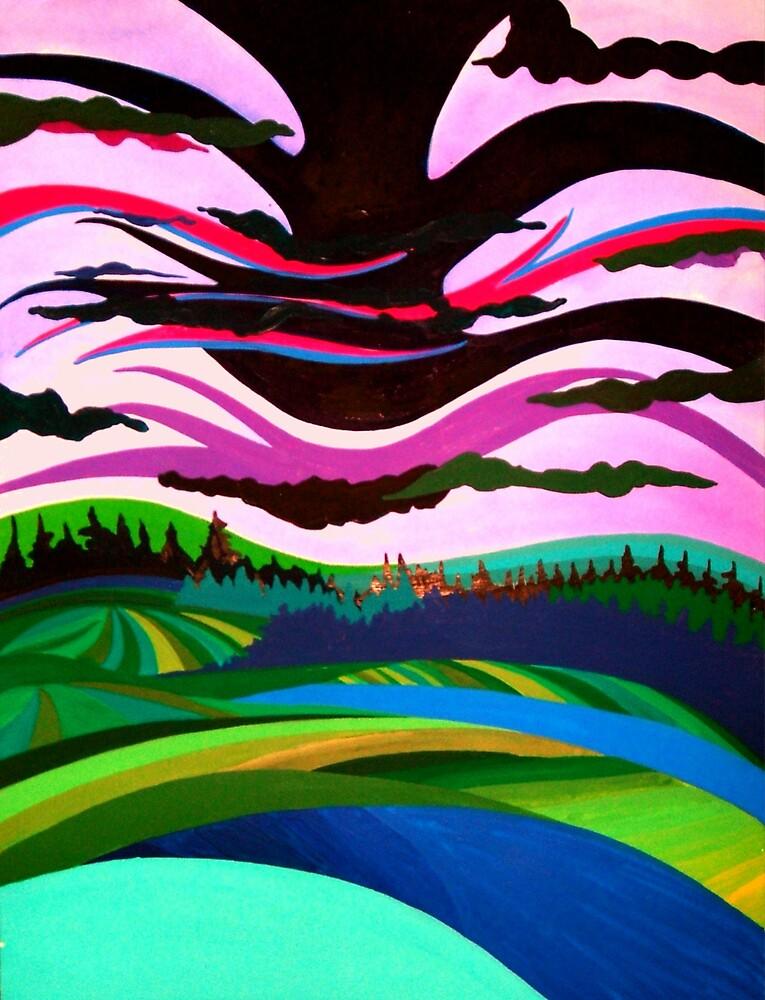 Incoming Storm by Jamie Winter-Schira