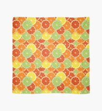 pattern with different slice citruses Scarf