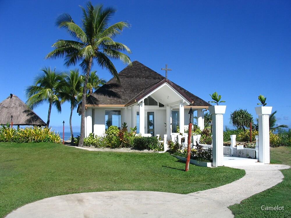Wedding Chapel at Naviti Resort Fiji by Camelot