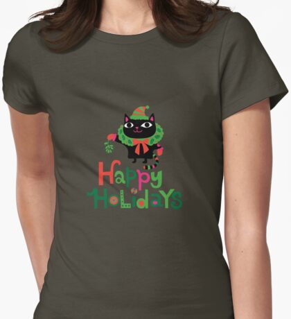Happy Catiday Holiday   T-Shirt